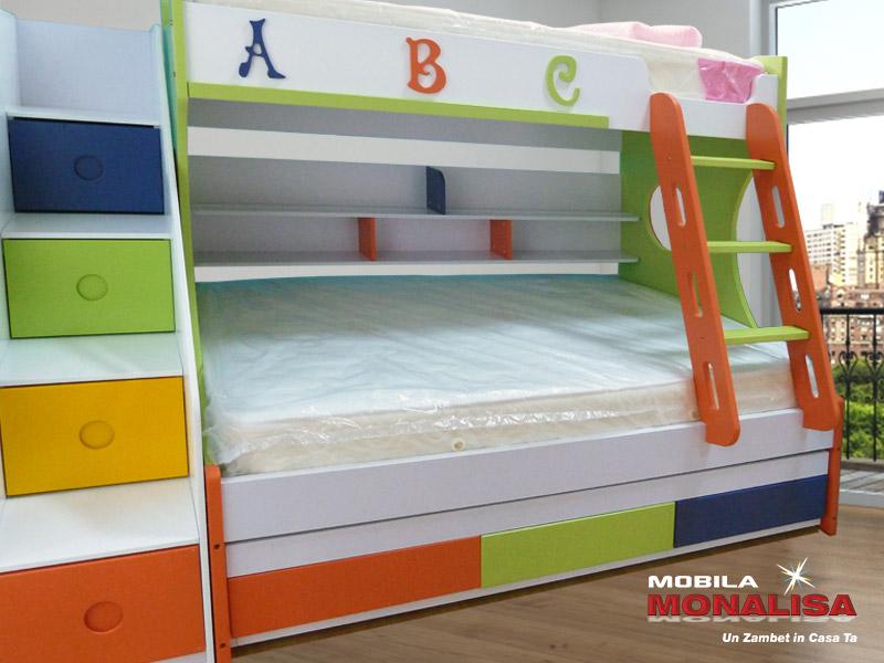 Paturi Suprapuse pt Copii Preturi Importator | Model Kiddy