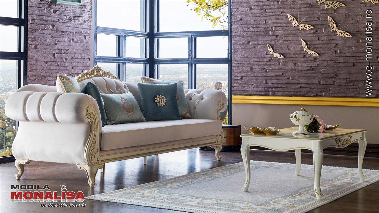 Mobila clasica de lux pentru living Astoria