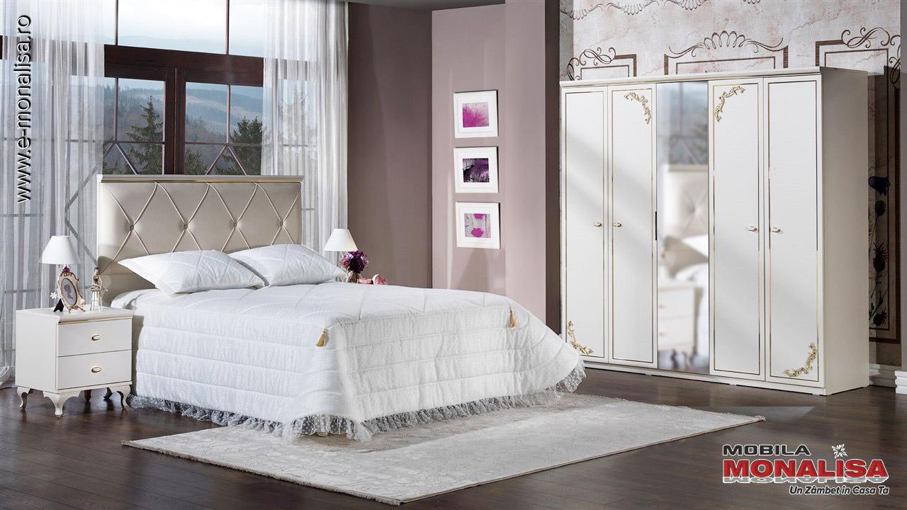 Dormitoare de lux albe