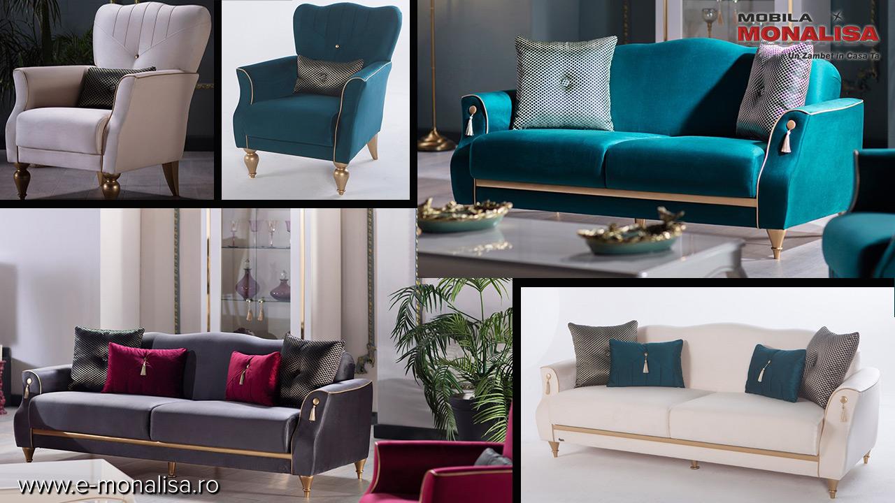 Canapele moderne extensibile de lux