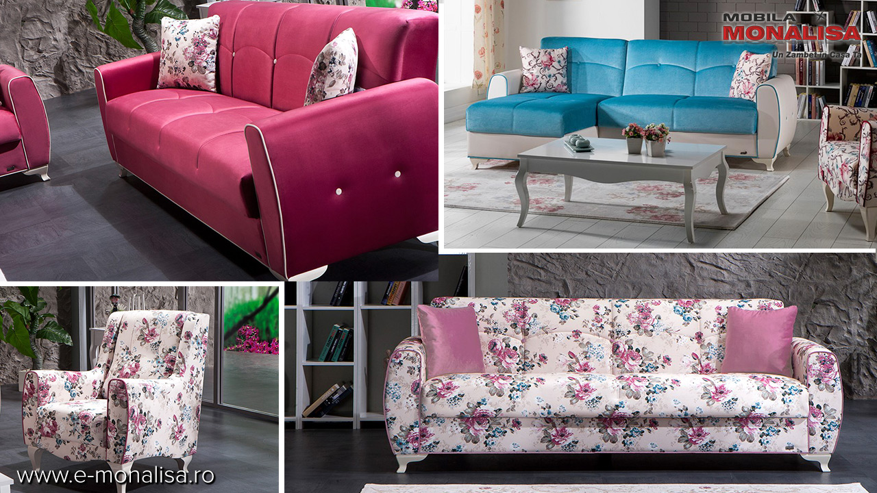 Canapele si fotolii moderne extensibile modele noi