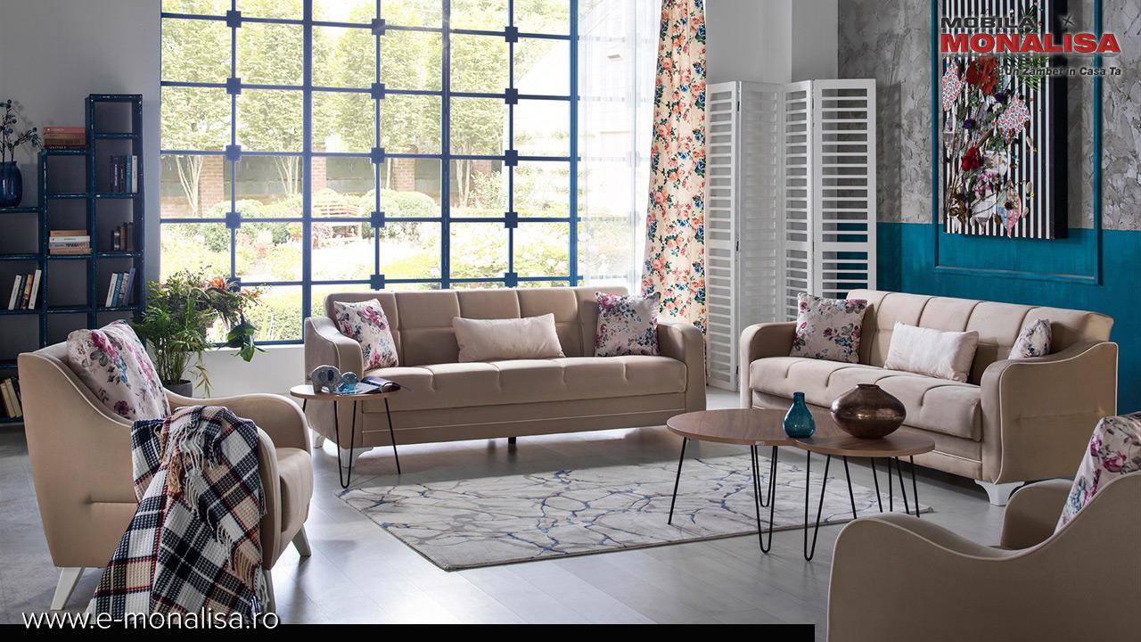 Canapele si fotolii moderne ieftine - oferta de pret