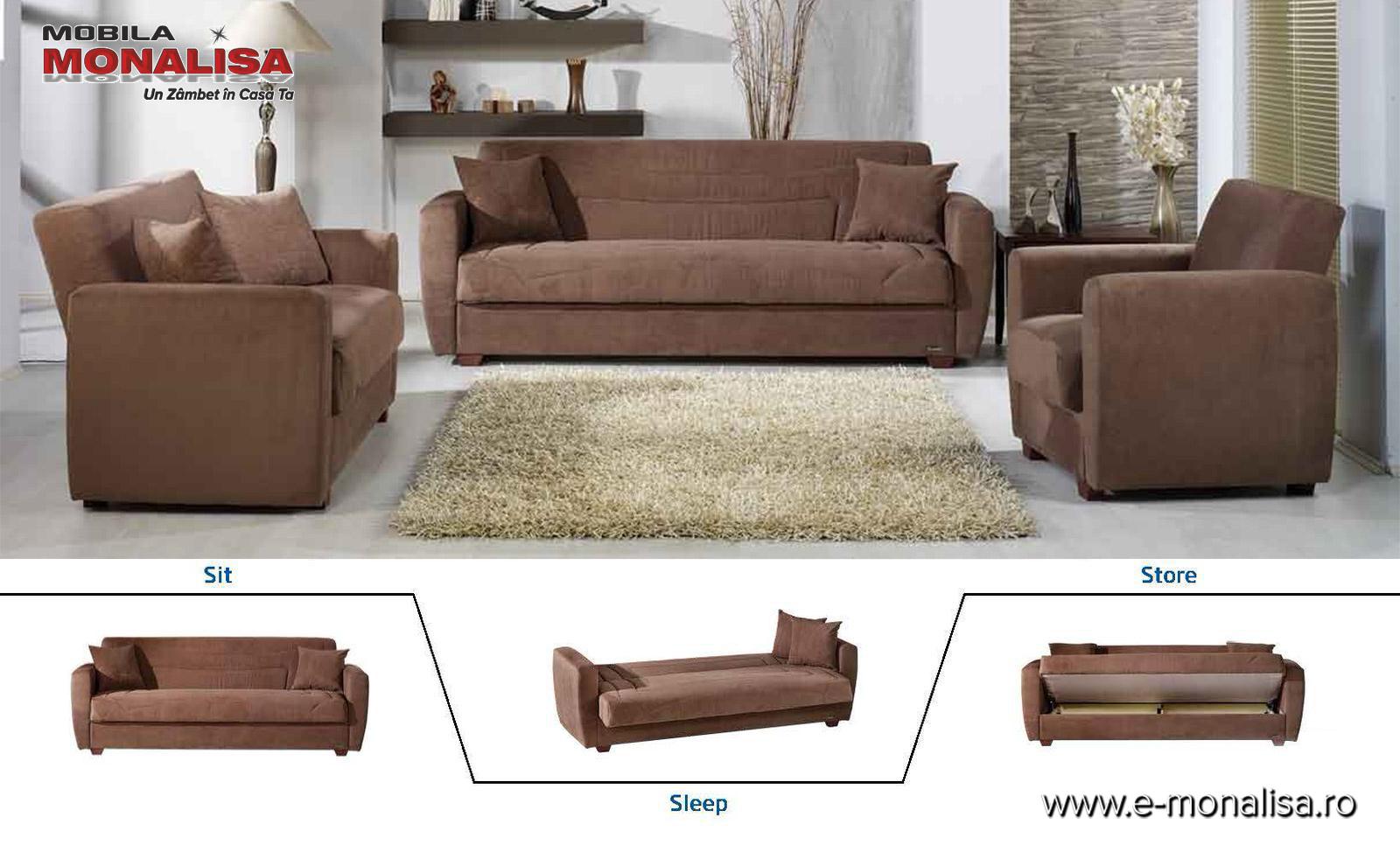 Canapele si fotolii extensibile ieftine