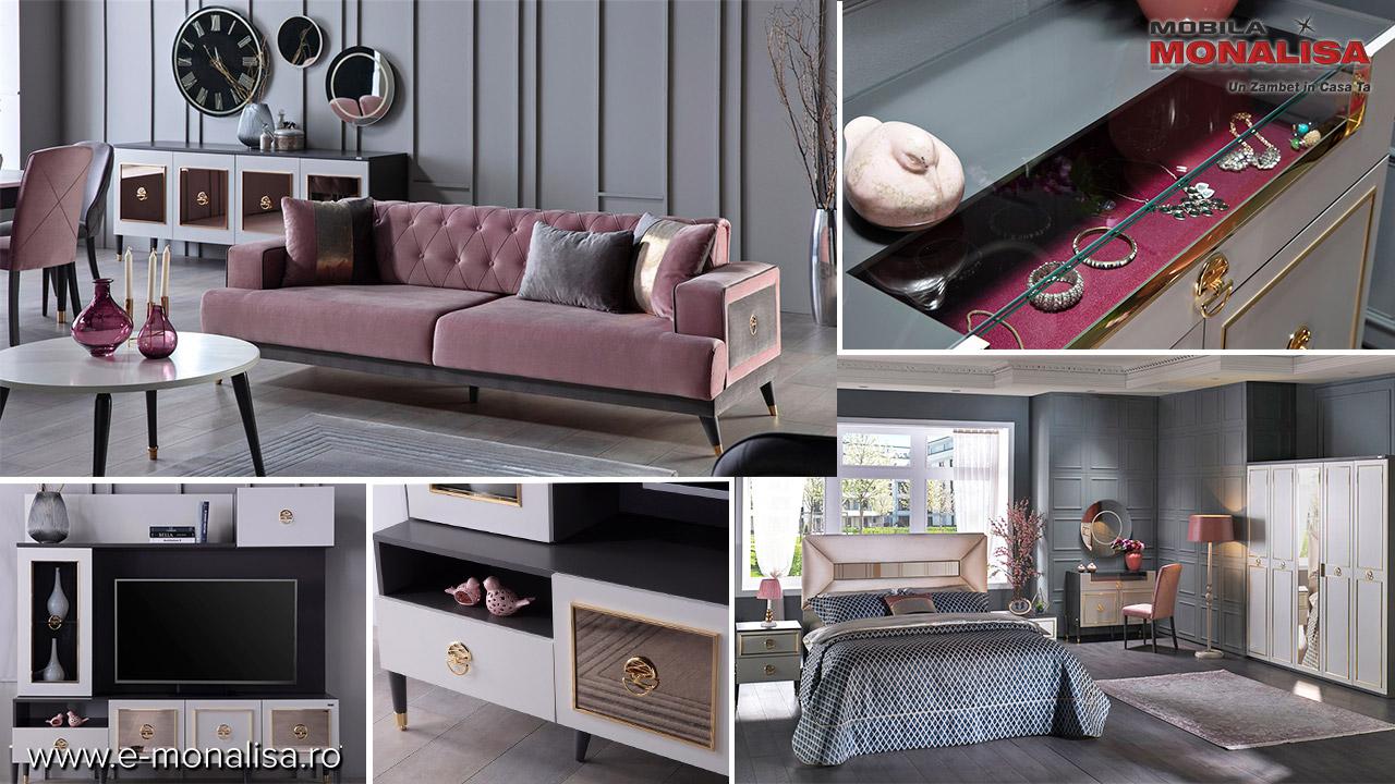 Set complet mobila moderna de lux