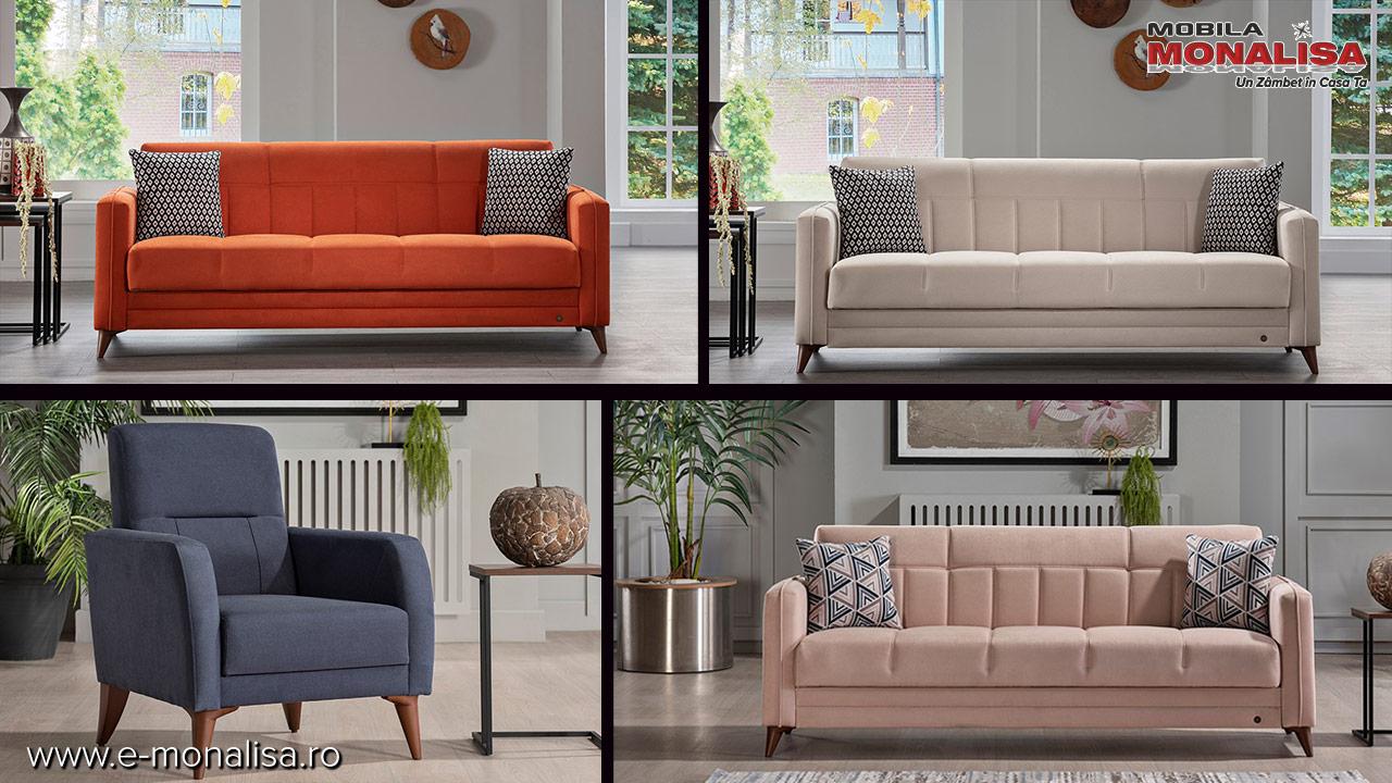 canapele ieftine extensibile 3 locuri