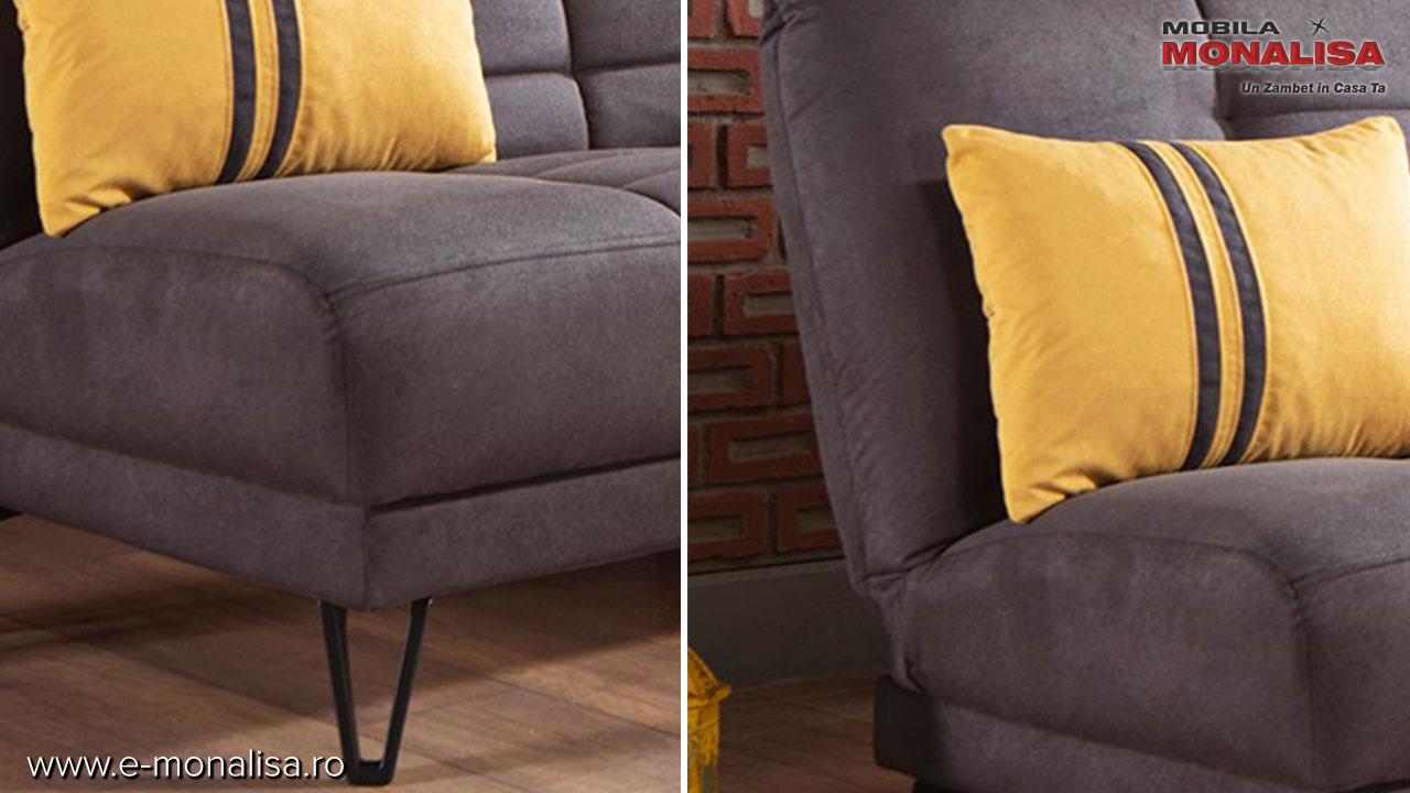 Canapea extensibila 3 locuri moderna
