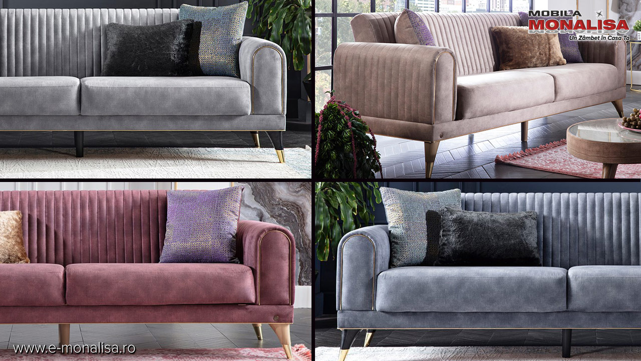Canapele moderne extensibile pret oferta Bucuresti