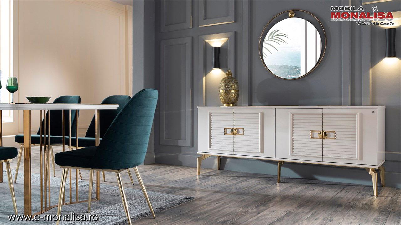 mobila living modern de lux