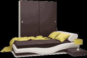 Mobila de Dormitor Wave