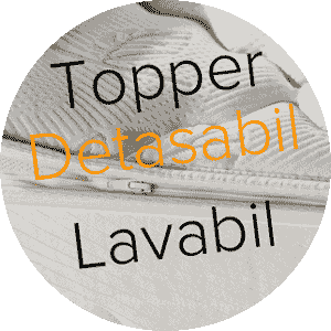 Saltele Lavabile - Topper Detasabil