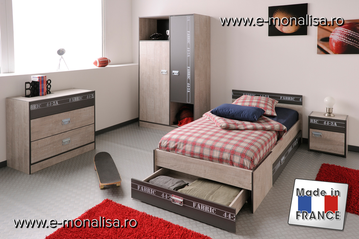 Mobila Dormitor Tineret Fabric